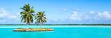 Urlaub auf einer einsamen Insel im Pazifik - 159608779