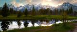 Sunset at Grand Tetons