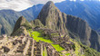 Machu Picchu in the morning sun