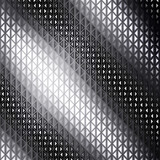 Abstract metallic geometric background with black and white concept. - 159620518