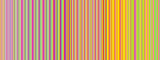 Retro colors vertical striped lines background. - 159621368
