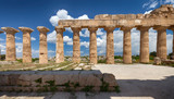 Ancient Greek temple in Selinunte, Sicily, Italy - 159638568
