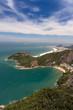 Quadro Rio Ausblick Copacabana Vermelha Strand blauer Himmel