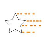 universe star isolated icon vector illustration design