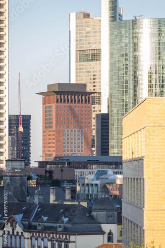Wolkenkratzer in der Frankfurter Skyline