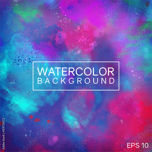 Watercolor Background Abstract Modern Style