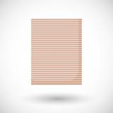 Bamboo carpet vector flat icon