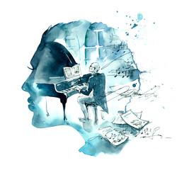 musician © okalinichenko