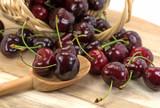 Süßkirschen,Prunus avium, Cherries