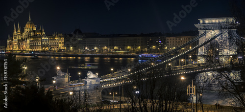 Long exposure picture from Budapest
