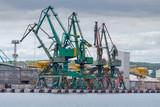 Gdynia. Port cargo morskiego.