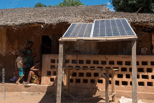 énergie solaire Madagascar Poster