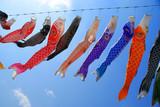Japanische Fest-dekoration in Fisch - Form