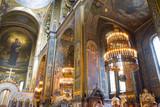 St. Vladimir's Cathedral Kiev, Ukraine. Interior inside. The Vladimir Cathedral painted by Victor Vasnetsov