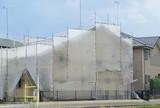 住宅リフォーム 外壁塗装建築現場 イメージ - 159782399