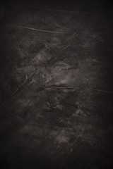 Abstract black painting background © enjoynz