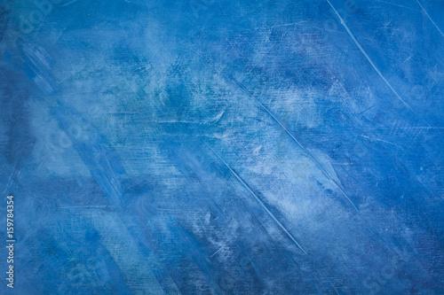 Streszczenie niebieskim tle malarstwa