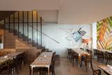 Restaurant interior,new,urban - 159786139