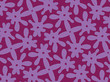 A hand drawing pattern made of lily and fuchsia. - 159792103