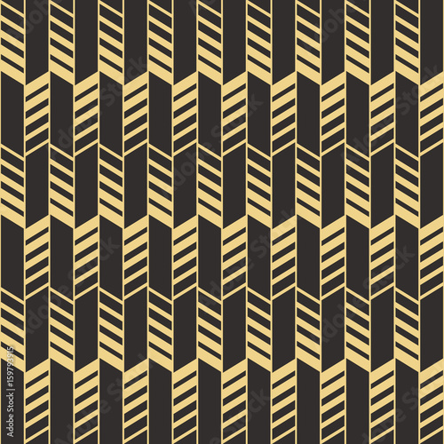Naklejka Abstract art deco seamless pattern_2