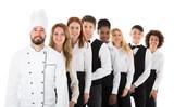 Portrait Of Restaurant Staff - 159796901