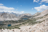 King's Canyon National Park from the Top of Kearsarge Pass