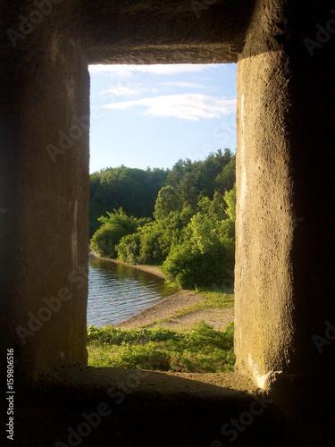 Stone Castle Window