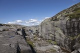 Am Weg zum Kjerag, Norwegen