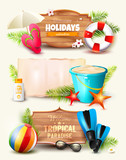 Summer holidays headers