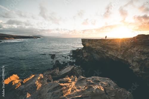 Sunset in La Pared - Fuerteventura Poster