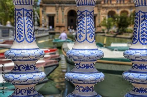 barcas estanque en Sevilla