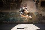 Beautiful ballerina in the air - 160020913