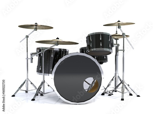 vista-frontal-tambor-negro-render-3d