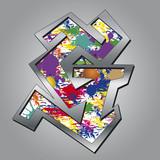 Buntgraffiti G