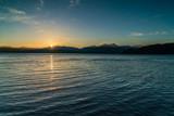 Sunset At Hood Canal Marina
