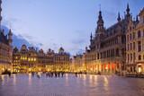 Бельгия. Брюссель. Гранд-Плас. Вечер.