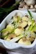 baked champignons - 160160347