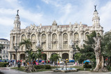 "Fassade des Grossen Theaters ""Garcia Lorca"" in Havanna."