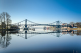 Kaiser-Wilhelm-Brücke mit Spiegelung - 160181798