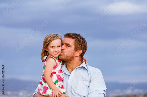 Vater und Tochter Poster