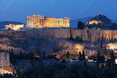 Foto op Canvas Athene Acropolis Athens Greece Epic