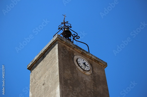 Poster clocher d'une église