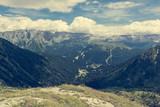 Mountain view above Madonna di Campiglio.