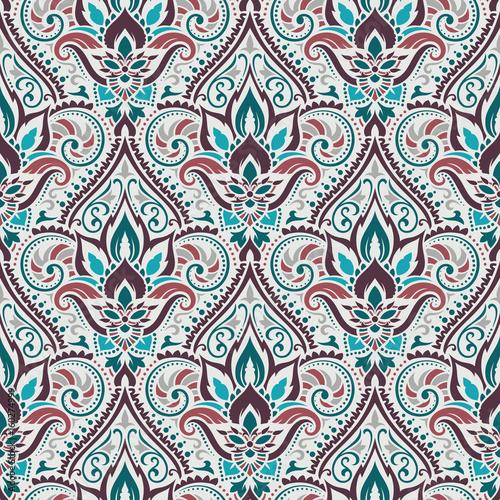 Vector damask seamless pattern - 160274999