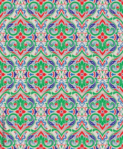 Vector damask seamless pattern - 160278727