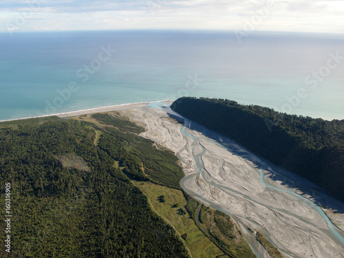 Plakát Te Wahipounamu, UNESCO Conservation Area, New Zealand