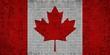 Grunge mosaic flag of Canada - illustration, Abstract grunge mosaic vector