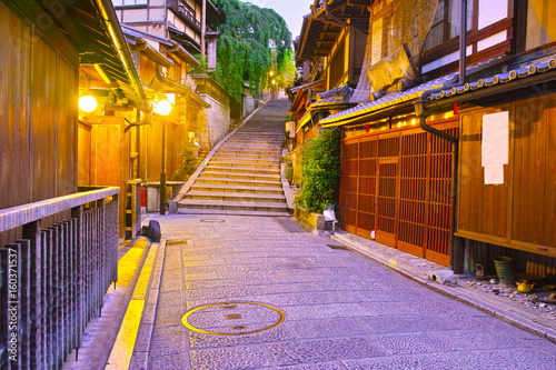 Keuken foto achterwand Kyoto 京都 夜の三年坂