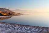 Sunset Salt Coastline Utah