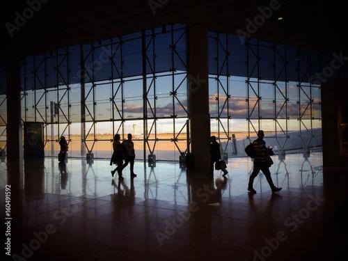 Zdjęcia na płótnie, fototapety, obrazy : barcelona airport